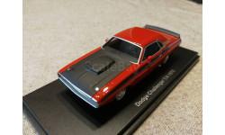 Dodge Challenger T/A 1970 (BoS), масштабная модель, scale43