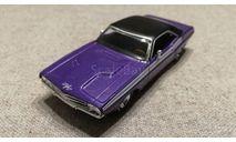 Dodge Challenger R/T  1970г. crazy plum (Matchbox-Barrett Jackson), масштабная модель, 1:43, 1/43