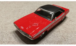 Dodge Challenger R/T  1970г. red (Matchbox-Barrett Jackson)