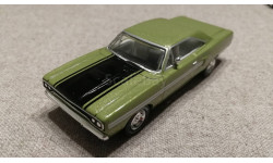 Plymouth GTX 1970г. olive (Matchbox для Barrett Jackson), масштабная модель, scale43