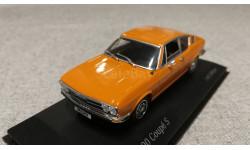Audi 100 coupe S 1969-75 orange (Minichamps) 1/43, масштабная модель, scale43