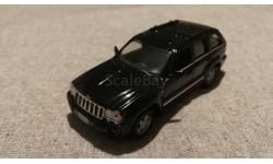 Jeep Grand Cherokee WJ black 1998-2004 (IXO) 1/43, масштабная модель, 1:43, IXO (перуанская журнальная серия)