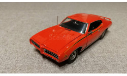 Pontiac GTO 'Judge' 1969  (Franklin mint), масштабная модель, scale43