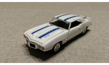 Pontiac Firebird Trans Am 1969 (Road Champs) 1/43, масштабная модель, scale43