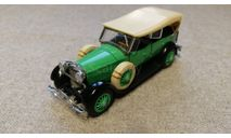 Lincoln Sport Touring 1927 (Franklin Mint) 1/43 (без упаковки), масштабная модель, scale43