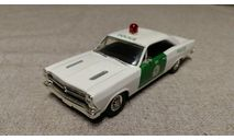 Ford Fairlane 500XL The Miami police department 1966г. (Matchbox), масштабная модель, 1:43, 1/43