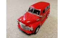 Chevrolet Suburban 1950г. (Kinsmart) 1/36, масштабная модель, scale35