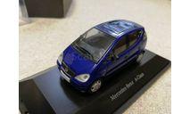 Mercedes-Benz A-Class (A140) blue (Herpa) 1/43, масштабная модель, scale43