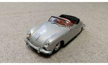 Porsche 356 cabriolet 'Stuttgart' 1954 silver (Minichamps) 1/43, масштабная модель, scale43