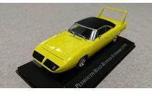Plymouth Road Runner Superbird 1970 (Altaya) 1/43, масштабная модель, scale43