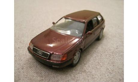 Audi 100 avant (C4)1991-94г. red (Schabak), масштабная модель, 1:43, 1/43