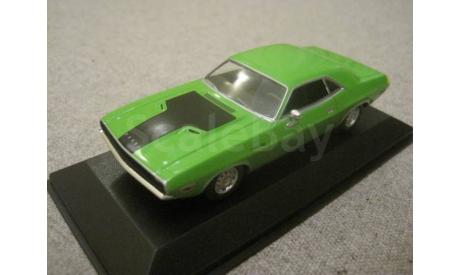 Dodge Challenger R/T 1970г. sublime (Minichamps), масштабная модель, 1:43, 1/43