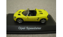 Opel Speedster 2000-2005г. (Schuco), масштабная модель, 1:43, 1/43