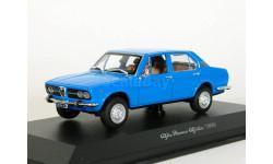 Alfa Romeo Alfetta 1800, blue, 1983 - Norev - 1:43, масштабная модель, scale43