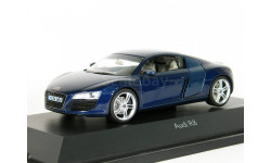 Audi R8, mugello blue met., 2006 - Schuco - 1:43