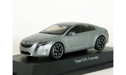 Opel GTC Concept, grey, 2007 - Schuco - 1:43, масштабная модель, 1/43