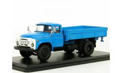 Грузовик ЗИЛ-130-76 бортовой, синий, 1979 - SSM - 1:43