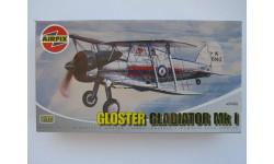 1/72 - AIRFIX - Биплан Gloster Gladiator Mk.I - RAF, сборные модели авиации, 1:72
