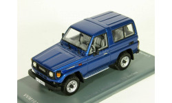 Toyota Land Cruiser 70 series, blue met., 1986 - VVM / NEO - 1:43 - ДОСТАВКА БЕСПЛАТНО