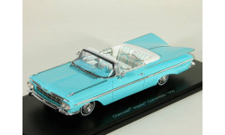 Chevrolet Impala Coupe Convertible, blue, 1959 - Spark - 1:43, масштабная модель, 1/43