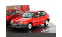 Toyota Corolla 3-door LHD (E12), red, 1997 - Vitesse - 1:43, масштабная модель, scale43