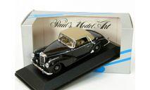Mercedes 300S (W188) Cabriolet SoftTop, black, 1951-1955 - Minichamps - 1:43, масштабная модель, Mercedes-Benz, scale43