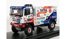 Tatra Phoenix, Buggyra team, №505, Dakar 2018 - ScaleMasters - 1:43, масштабная модель, scale43