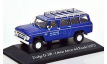 Dodge D-200 Lineas Aereas del Estado, масштабная модель, Altaya, scale43