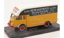 Renault 2,5t Van Demenagements Seigneurs, масштабная модель, Hachette, scale43