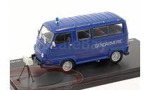 Renault Estafette 800 Gendarmerie Mobile radar, масштабная модель, Hachette, scale43