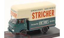 Saviem SG2 MB35 Van Stricher, масштабная модель, Hachette, scale43