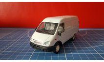 Газель фургон белая 1/43, масштабная модель, Агат/Моссар/Тантал, scale43