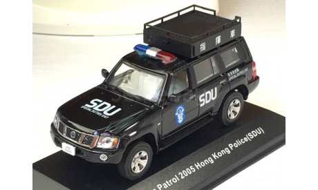 1:43 J-collection Nissan Patrol Hong Kong Police (SDU), масштабная модель, scale43