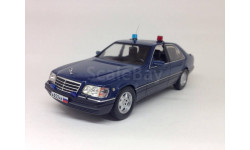 C 1 рубля!  Mercedes-Benz S600 (W140) Russian Presidential Security 1993 IXO, масштабная модель, IXO Road (серии MOC, CLC), 1:43, 1/43