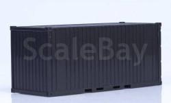 Контейнер 20 футов неокрашенный, сборная модель (другое), 1:43, 1/43, Start Scale Models (SSM)