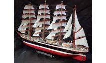 Все 140 номеров для сборки Барк Седов от Ашет Коллекция 1:110, сборные модели кораблей, флота, scale100