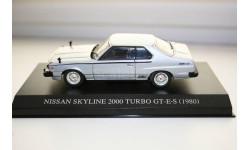 1/43 NISSAN SKYLINE 2000 TURBO GT-E-S (1980) DISM, масштабная модель, AOSHIMA, scale43