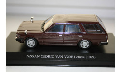 1/43 NISSAN CEDRIC VAN V20E Deluxe (1999) DISM, масштабная модель, AOSHIMA, scale43