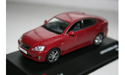 1/43 Lexus is220d 2008 Red - Jcollection, масштабная модель, Kyosho, scale43, Mazda