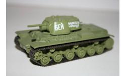 1/72 КВ-1 - Русские танки Eaglemoss №4, масштабные модели бронетехники, scale43
