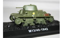 1/72 M13/40 1942- Танки Мира №22, масштабные модели бронетехники, арсенал коллекция, scale43