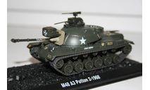 1/72 M48 Patton 3 - Танки Мира №37, масштабные модели бронетехники, арсенал коллекция, 1:72