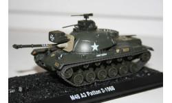 1/72 M48 Patton 3 - Танки Мира №37, масштабные модели бронетехники, арсенал коллекция, 1:43, 1/43