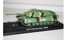 1/72 M1A1HA Abrams 2003- Танки Мира №3, масштабные модели бронетехники, арсенал коллекция, 1:72