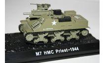 1/72 M7 HMC Priest 1944- Танки Мира №35, масштабные модели бронетехники, арсенал коллекция, 1:72