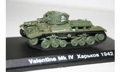 1/72 Валентайн МК-4 Харьков 1942 - Танки Мира №31, масштабные модели бронетехники, арсенал коллекция, scale43