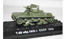 1/72 Т-26 обр.1932- Танки Мира №5, масштабные модели бронетехники, арсенал коллекция, 1:72