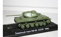 1/72 КВ-85 СССР 1943- Танки Мира №1, масштабные модели бронетехники, арсенал коллекция, 1:72