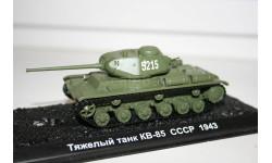 1/72 КВ-85 СССР 1943- Танки Мира №1, масштабные модели бронетехники, арсенал коллекция, scale43