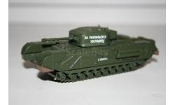 1/72 Черчилль - Русские танки Eaglemoss №64